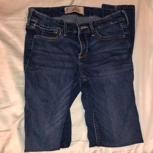 3R Hollister Medium Wash Skinny Jeans